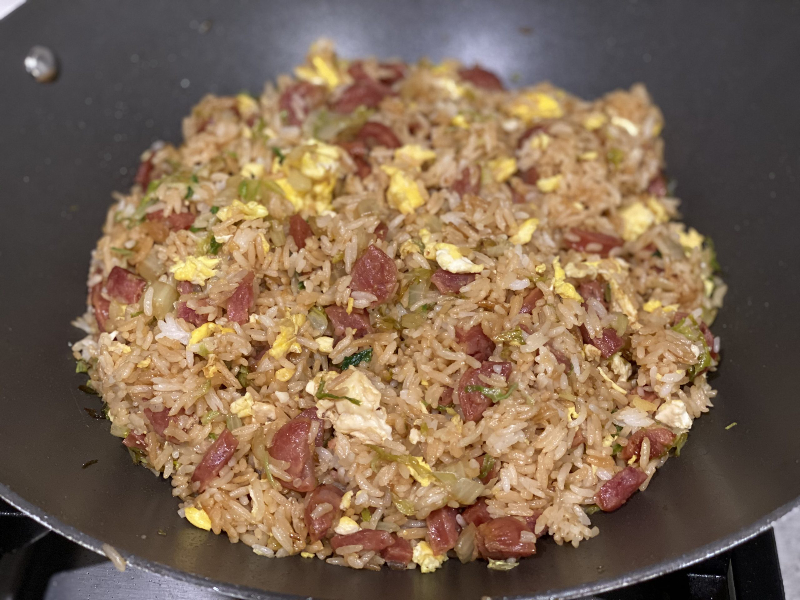 Chinese Sausage Asian Fried Rice