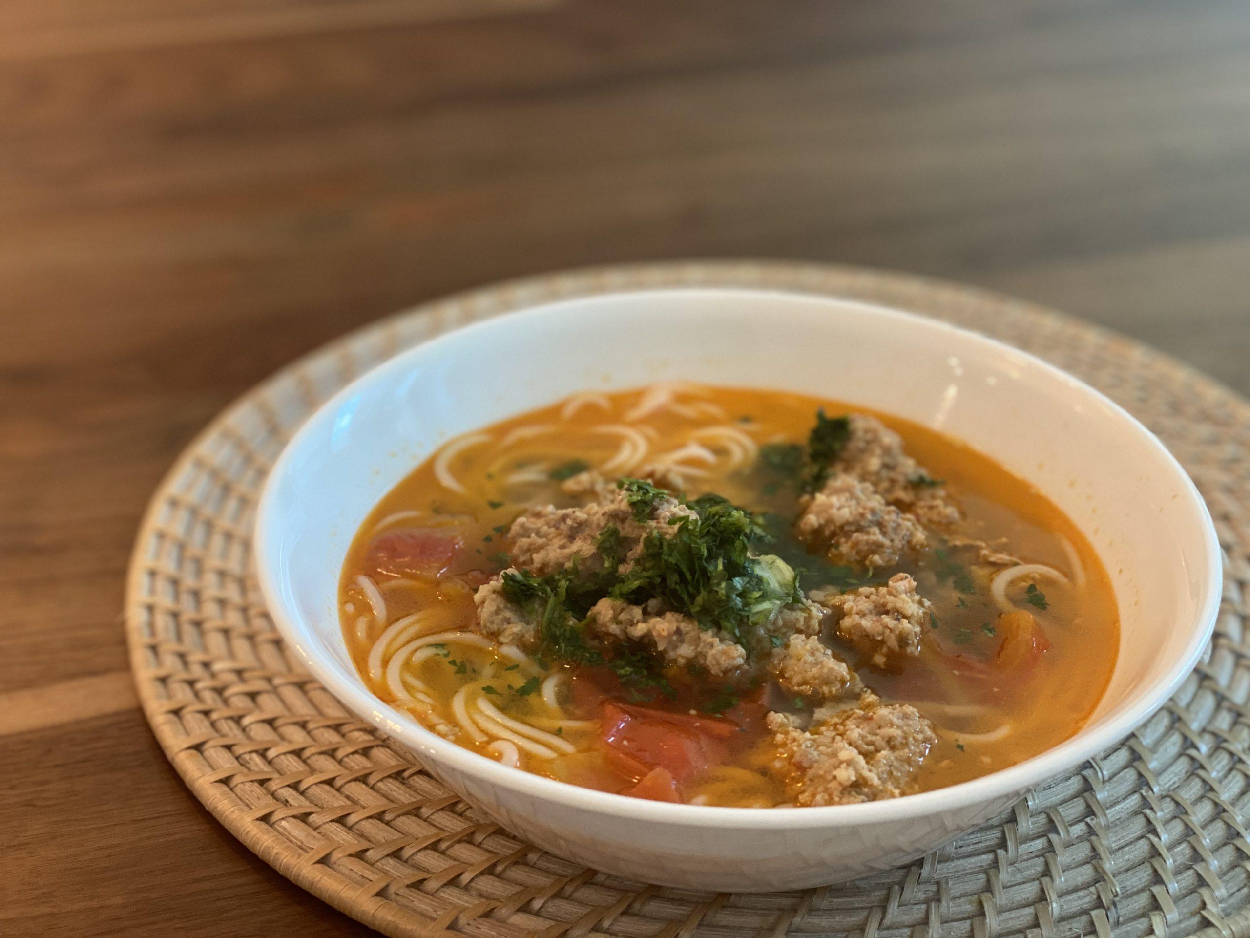 Bun Rieu (Vietnamese Crab Noodle Soup)
