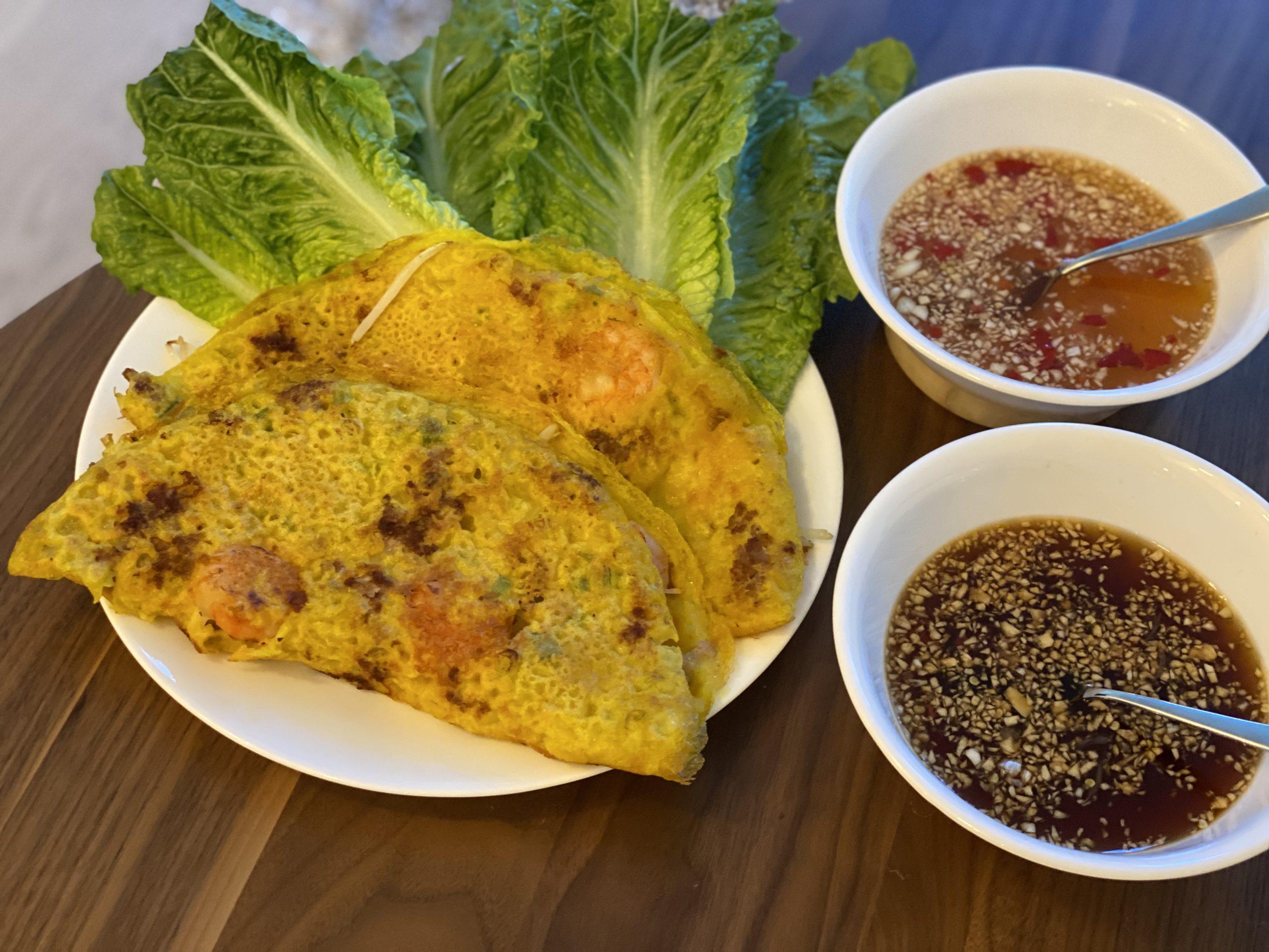 Vietnamese Crepe (Banh Xeo) Recipe