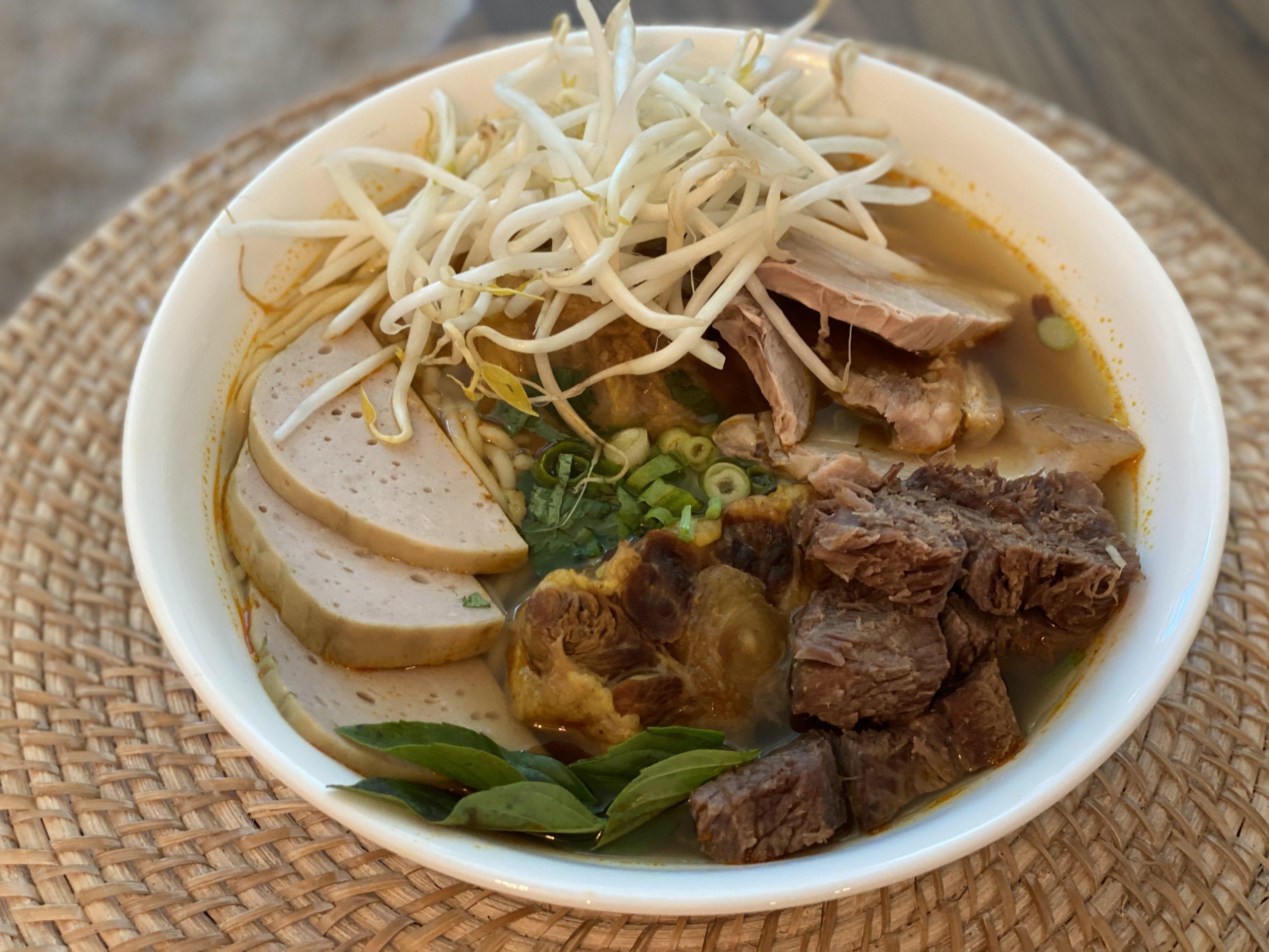 Vietnamese Spicy Beef Noodle Soup (Bun Bo Hue) Recipe